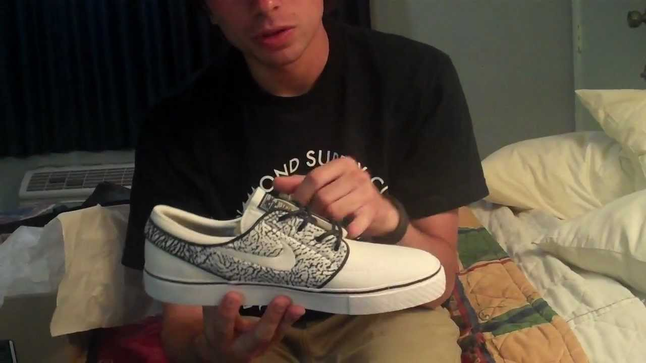 cec3bf6a29 Mikeyrox18 Custom Janoski SBs by Salvation (Nike SB vid  43) - YouTube