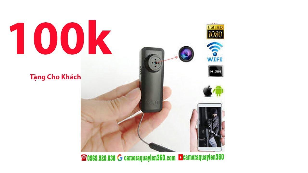 Camera Cúc Áo Wifi X8  Xem Từ Xa | FULL HD || Bí Mật – Giá Rẻ|| [0969 920 838]