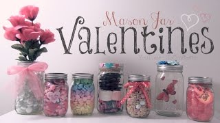 Diy Mason Jar Valentines // Easy Gifts & Room Decor How To