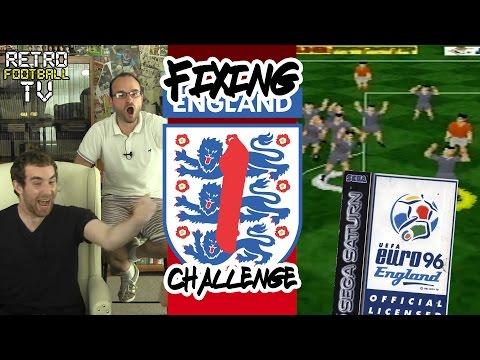 """Group Stage Disaster!"" Euro '96 England (Sega Saturn) | Fixing England Challenge | Ep. 1"