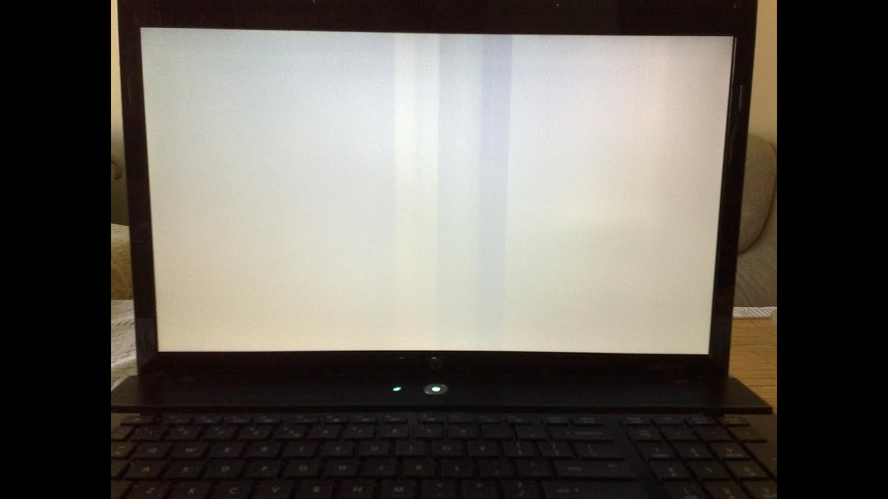 How To Repair White Screen In Laptops