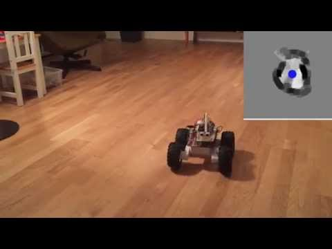 Rover 5 Robot Project: Making Maps with Sonar Sensors