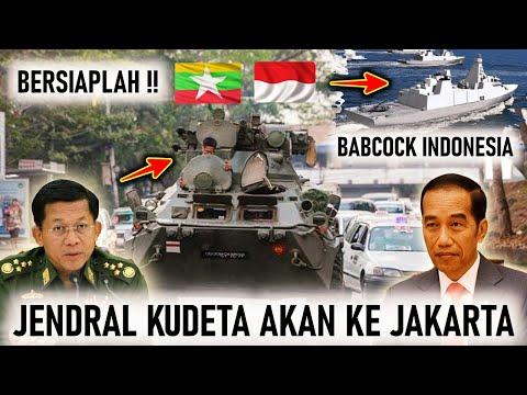 JENDRAL MYANMAR akan DATANG ke JAKARTA, KEMHAN & PT PAL BAHAS PENJAJAKAN FRIGATE BABCOCK INDONESIA