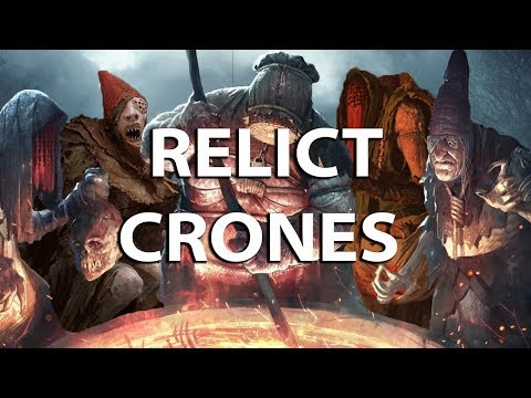 Gwent: The Witcher Card Game - Monsters Relict Crones deck - Dagon Gameplay thumbnail