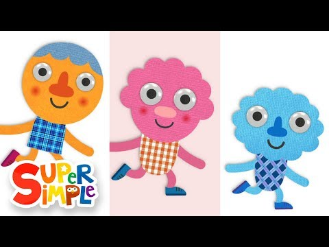 Walking Walking | Nursery Rhymes | Super Simple Songs