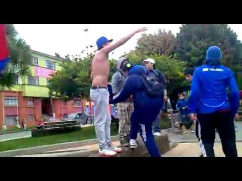 """U.de chile vs las zorras- Clasico en AncUd Parte 1 """"AnkUd*AzUl , Kastro*AzUl y K*A Jrs"""""""