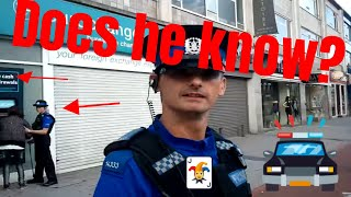 Asking PCSO if he knows the difference between a Law and a Statute