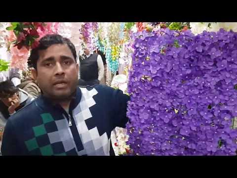 Artificial Flowers Wholesale Market - Fancy Flowers, Plastic Flowers Cheapest Market