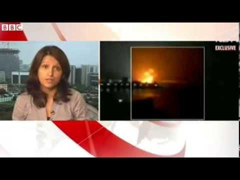 Indian submarine hit by explosion at Mumbai port