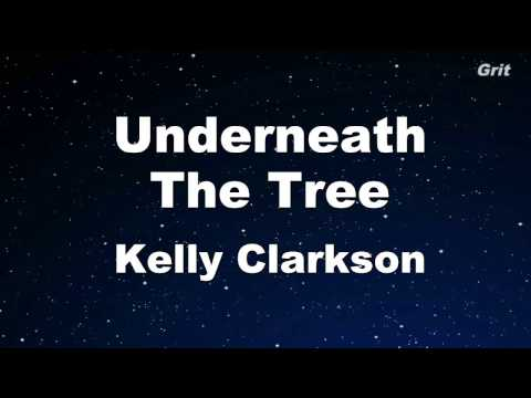 Underneath the Tree - Kelly Clarkson Karaoke 【With Guide Melody】 Instrumental