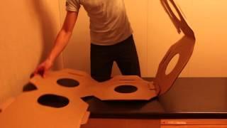 Видеосборка кубика модульной мебели для кошек КОТПРОМ