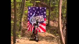 Biggest Trick In Action Sports History Triple Backflip Nitro Circus  Josh Sheehan