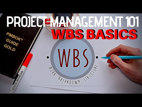 PMBOK GOLD 25: Project Management 101 PT 4 (Work Breakdown Structure - WBS Basics)