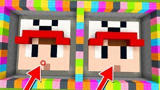 NIGDY NIE ZNAJDZIESZ RÓŻNICY! (Minecraft Mapa) | Vito vs Bella