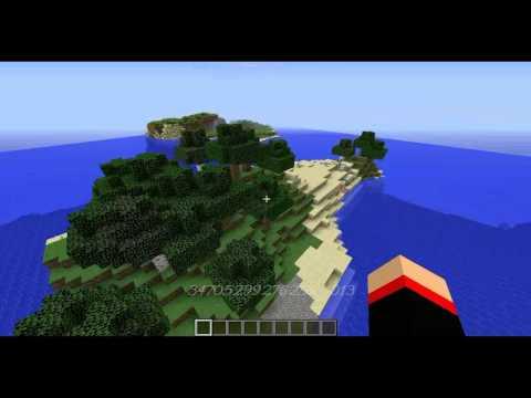 Three 1 8 Minecraft Survival Island Seeds