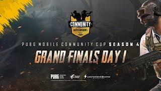 PCC - FINAL DAY 1 [PUBG Community Cup Season 4]