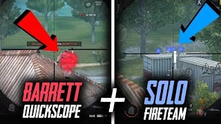 Barrett quickscope out of the air!! + Solo FT! (Kill Montage Ep. 33) | Rules Of Survival