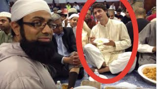 Премьер-министра Канады Джастин Трюдо делает ИФТАР
