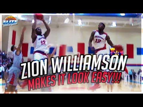 Zion Williamson Makes It Look EASY! 27 Points vs. Hammond