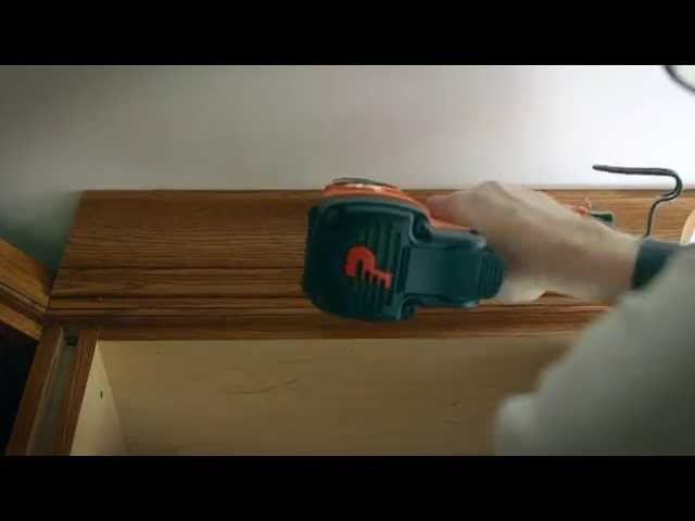 Paslode Cordless Finish Nailer - Crown Molding