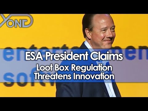ESA President Claims Loot Box Regulation Threatens Innovation, Calls Backlash Overreactions