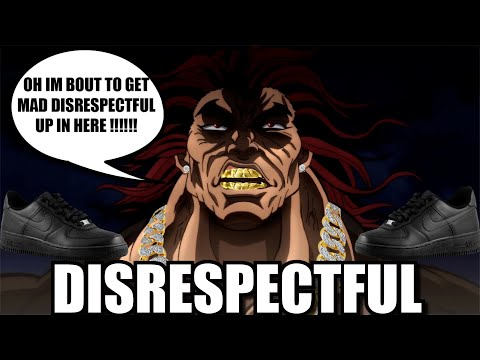 THE MOST DISRESPECTFUL MOMENTS IN ANIME HISTORY 2 (THE YUJIRO HANMA SPECIAL)