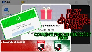 How To Get 50 My Club Coins By Playing J. League Challenge || PES 2019 ||