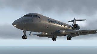 Настоящий летчик в гостях #2 CRJ 200 Отказ самолета. Приводнение