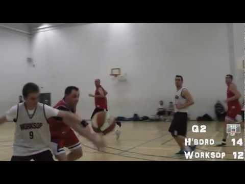 Hillsborough v Worksop 2, Sheffield Basketball League highlights