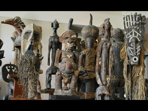 Snapshots of my TRIBAL ART COLLECTION in Open Storage (6 of 7)