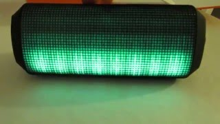 Abdtech Portable Bluetooth Speaker with LED Dancing Light Review