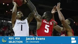 Golden State Warriors NBA Draft Grades And Analysis 2018