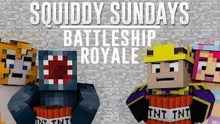 Squiddy Sundays - Minecraft Xbox - Battle Ship Royale Mini Game