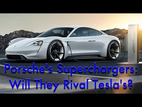 Will Porsche's DC Quick Charge Plans Rival Tesla's Supercharger Network?
