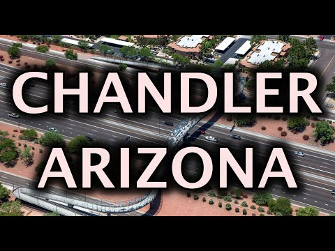 Chandler Arizona Driving Tour 4K