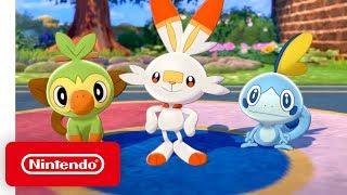 Download Pokémon Sword & Pokémon Shield - Overview Trailer - Nintendo Switch Mp3 and Videos