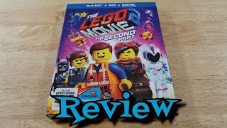 The Lego Movie 2: The Second Part Blu-Ray Unboxing and Review - Animation - Action - Adventure