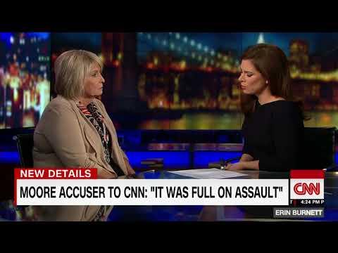 CNN: Moore accuser speaks to CNN