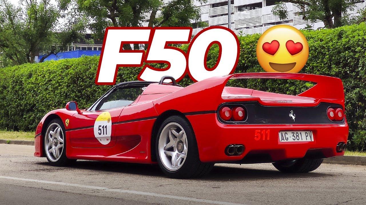 FERRARI F50 - Close Ups & Start Up 😍