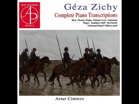 Cimirro plays Bach/Zichy - Chaconne for the left hand alone (BWV 1004)