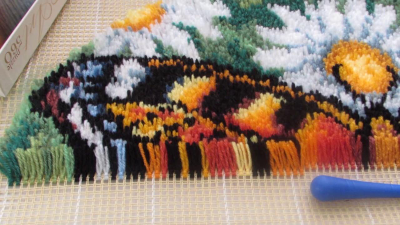 Вышивка ковриков набор