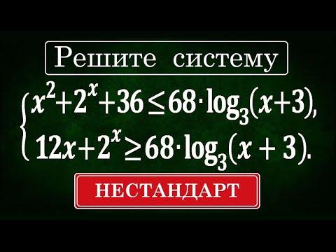 Редкий НЕСТАНДАРТ / Задание 15 ЕГЭ профиль #121