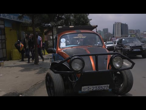 The 'pimped-out' Volkswagen Beetles of Ethiopia | AFP