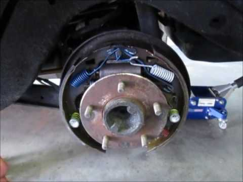 Replacing a bent backing plate on a GM differential.