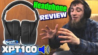 EXO Headphone Review w/ NVX XPT100 Studio Monitor Headphones | High Quality & Comfortable Sound