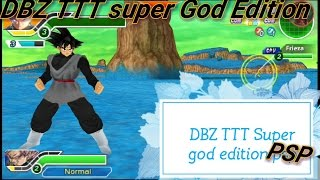 Dragonballz Tenkaichi Tag team Battle of Gods PSP mod version 5 is here