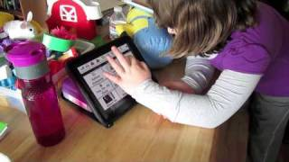 Potty on iPad using Proloquo2Go, AAC/autism/non-verbal/requesting