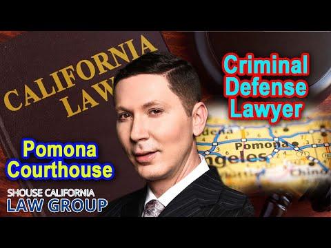 Pomona Courthouse Criminal Defense Lawyer