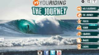 youriding the Journey game CALIFORNIA TOUR
