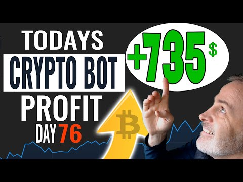 Day 76 Bitcoin Trading Bot Results